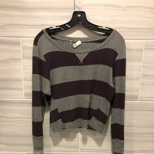 Striped AG long sleeve shirt